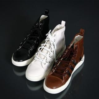Picture of ISNOM High Top Sneakers 1022170801 (Sneakers, ISNOM Shoes, Korea Shoes, Mens Shoes, Mens Sneakers)