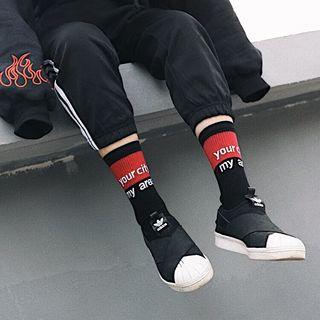 Colour Block Socks 1064108668