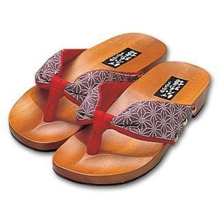 Picture of Mizutori Geta-monogatari Wood Sandals - Natural 1004546602 (Sandals, Mizutori Shoes, Japan Shoes, Womens Shoes, Womens Sandals)