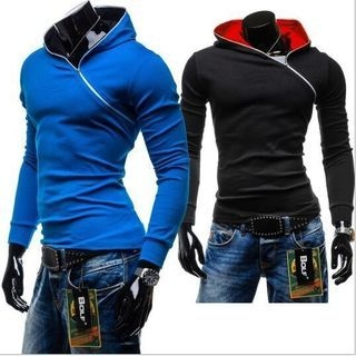Side Zip Hooded Pullover 1054967909