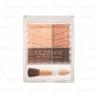 CEZANNE - Airily Touch Shadow (#01 Beige Brown) 1 pc 1596