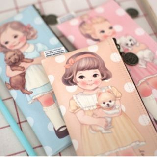 "Paper Doll Mate"" Series Pencil Case 1048977303"