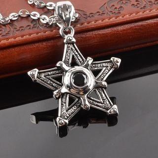 Star Titanium Steel Necklace