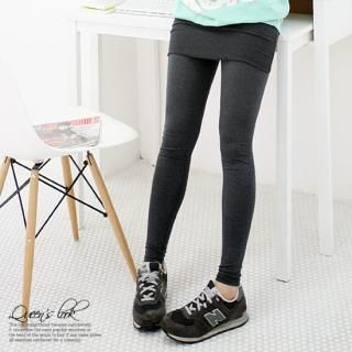 Buy Queen's Look Skirt Overlay Leggings 1022329995