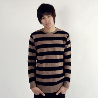 Picture of De Karma Stripe Knit Sweater 1021553261 (De Karma, Mens Knits, Korea)