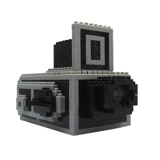 Retro Camera Toy Building Blocks As Figure - One Size 1049543104