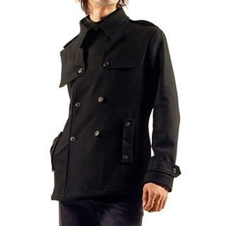Buy Purplow Double Breasted Wool Jacket 1005162797