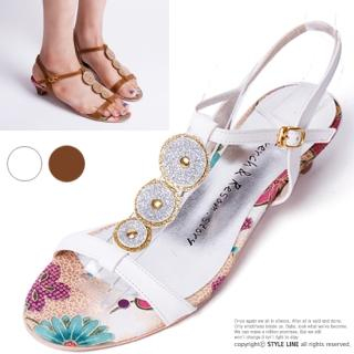 Buy STYLE LINE T-Strap Sandals 1022974683
