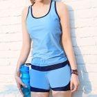 Set: Tankini Top + Swim Shorts 1596