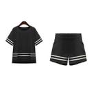 Set: Short-Sleeve T-Shirt + Shorts 1596