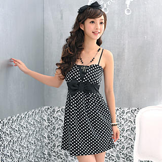 Buy 59 Seconds Strapless Polka Dotted Party Dress 1022969079