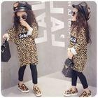 Kids Leopard-Print Shift Dress 1596
