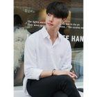 Long-Sleeve Linen-Blend Shirt 1596