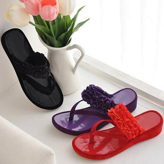 Picture of KAWO Frill-Detail Wedges 1022788452 (Other Shoes, KAWO Shoes, China Shoes, Womens Shoes, Other Womens Shoes)