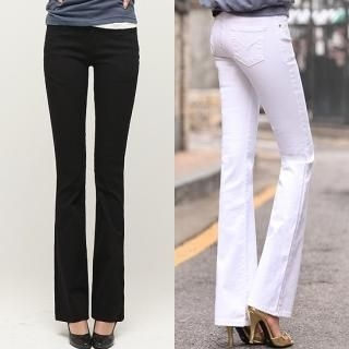 Buy Blue Is Boot-cut Pants 1022096573