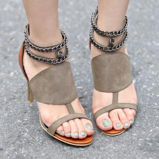 Buy STYLEKELLY Faux-Leather Sandals 1022977049