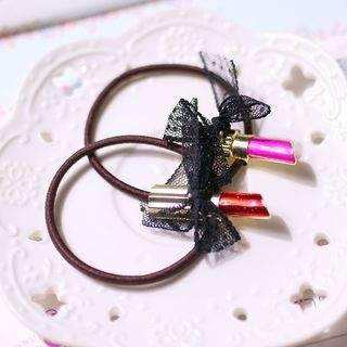 Lip Stick Hair Tie 1064208187