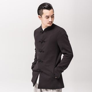 Chinese-Style Frog-Button Jacket