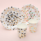 Disposable Party Plates / Cups 1596