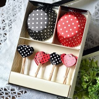 Dotted Cup Cake Set 1060374216