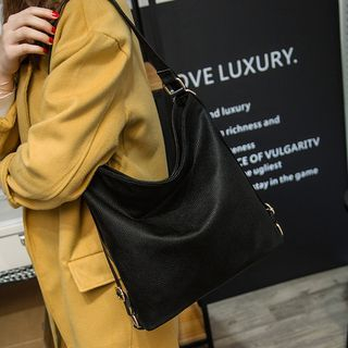 3-Way Faux-Leather Backpack