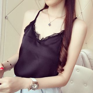 Camisole | Back | Lace | Top