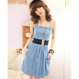 Buy Tokyo Fashion Denim Sundress 1022763846
