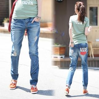 Picture of Jean Stone Washed Jeans 1022552670 (Jean Stone Pants, South Korea Pants)