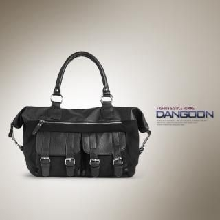 Buy DANGOON Faux-Leather Trim Tote 1022711257