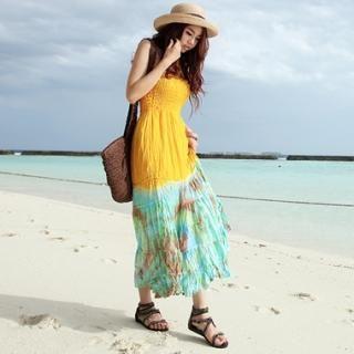 Buy KENZI Halter Neck Maxi Dress 1022780039
