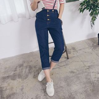 Cropped Jumper Jeans