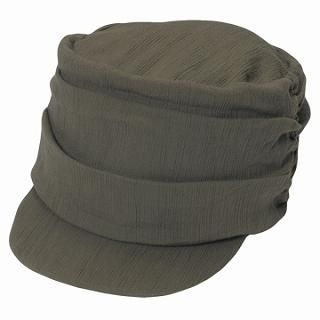 Picture of GRACE Gathered Casquette Khaki - One Size 1022173439 (GRACE, Mens Hats & Scarves, Japan)