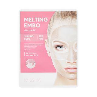 Melting Embo Gel Mask #Shining Bomb 1pc
