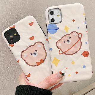 Image of Bear Print Case - iPhone 6 / 6 Plus / 7 / 7 Plus / 8 / 8 Plus / X/ XR / XS / XS MAX