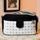 Nautical Print Shoulder Bag 1596