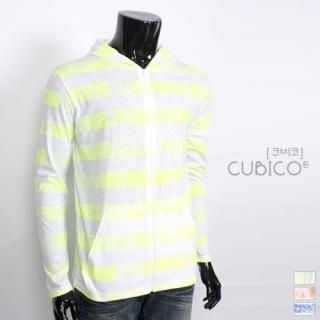 Picture of CUBICO Hooded Stripe Top 1022928097 (CUBICO, Mens Knits, Korea)