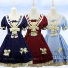 Short-Sleeve Lolita Cosplay Dress 1596