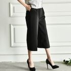Capri Wide-Leg Pants 1596