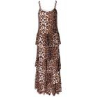 Leopard-Print Maxi Dress 1596
