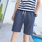 Striped Drawstring Shorts 1596