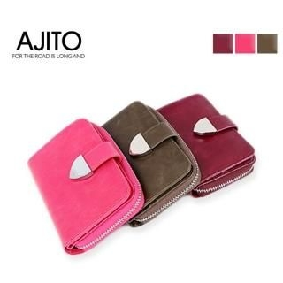 Picture of AJITO Genuine Leather Coin Wallet 1022459268 (AJITO, Wallets, Korea Bags, Womens Bags, Womens Wallets)