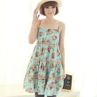 Buy CatWorld Smocked Floral Sundress 1022960814
