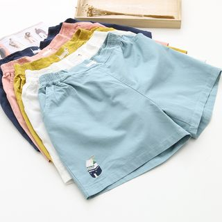 Image of Embroidery Shorts
