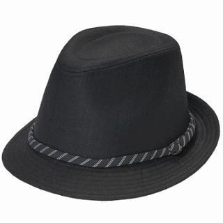 Buy GRACE Belted Fedora Black – One Size 1022190278