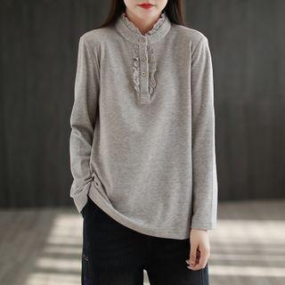 Long-sleeve | T-Shirt | Lace