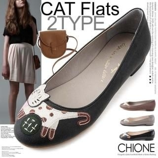 Picture of Chione Appliqu  Front Flats (2 Designs) 1023039054 (Flat Shoes, Chione Shoes, Korea Shoes, Womens Shoes, Womens Flat Shoes)