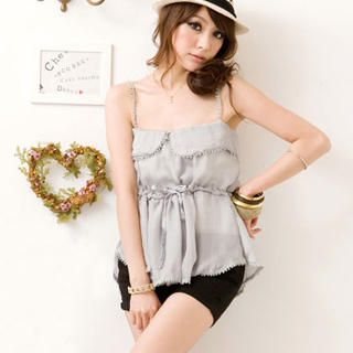 Buy I'Miusa Studded Pleated Shorts 1023037531