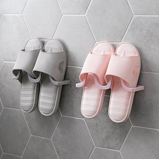 Image of Adhesive Wall Slippers Organizer
