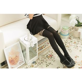 Mock Hold Up Tights 1049149759