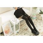 Mock Hold Up Tights 1596